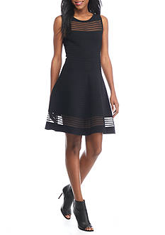 French Connection Tobey Crepe Knit Dress