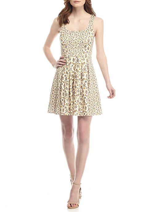 Niko Stretch Floral Dress