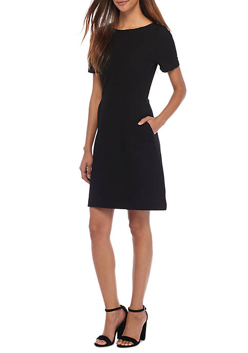 French Connection Dixie Cap Sleeve Dress