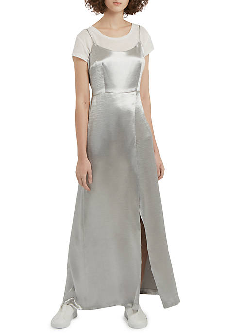 French Connection Kate Shine Maxi Dress