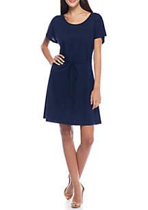 Ravenna Tie Waist Dress