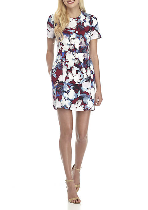 French Connection Eleanor Printed Dress