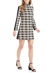 Lulu Plaid Printed Dress