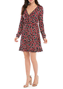 French Connection Aubi Meadow Wrap Dress