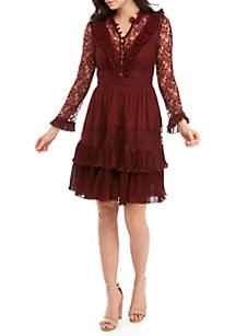 Clandre Vintage Lace Dress