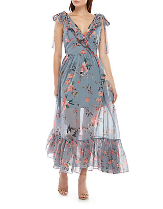 7b59ee1665b French Connection. French Connection Cecile Sheer Maxi Dress