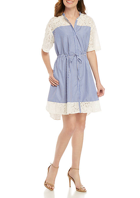 French Connection Adena Mix Dress