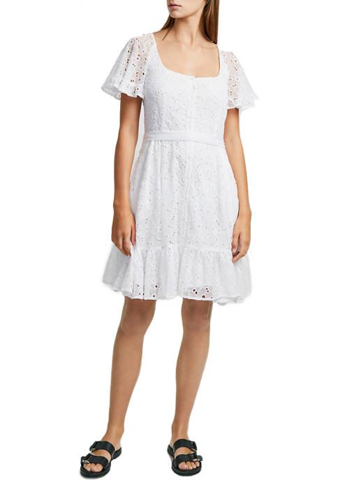French Connection Circeela Mix Dress