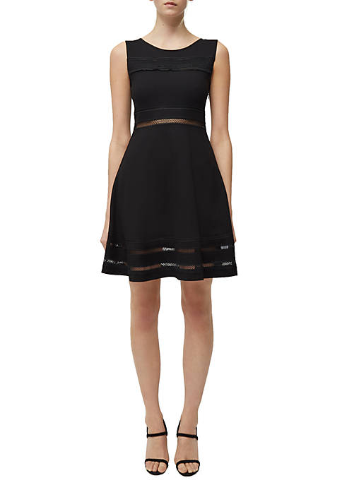French Connection Sleeveless Lulu Jersey Dress