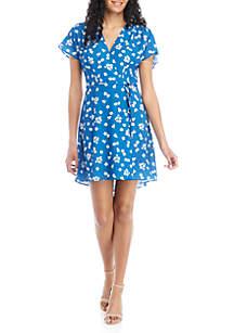 7e22d5049fc ... French Connection Verona Wrap Dress