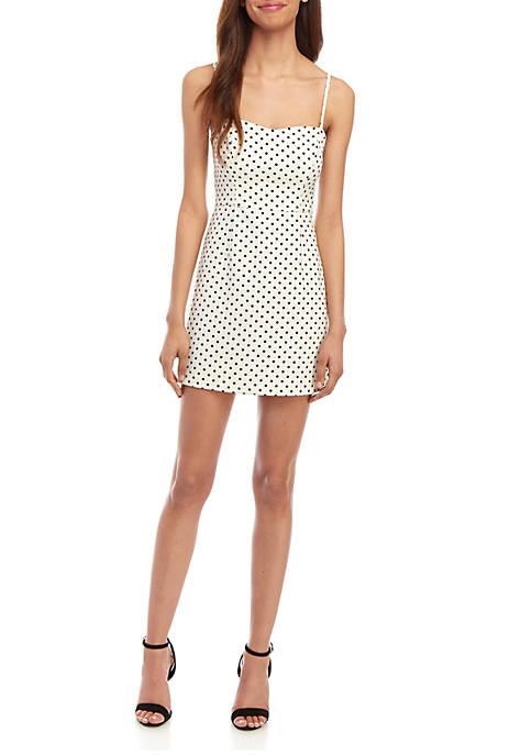 French Connection Polka Dot Whisper Dress