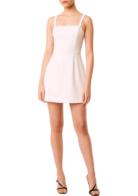 French Connection Sleeveless Square Neck Mini Dress