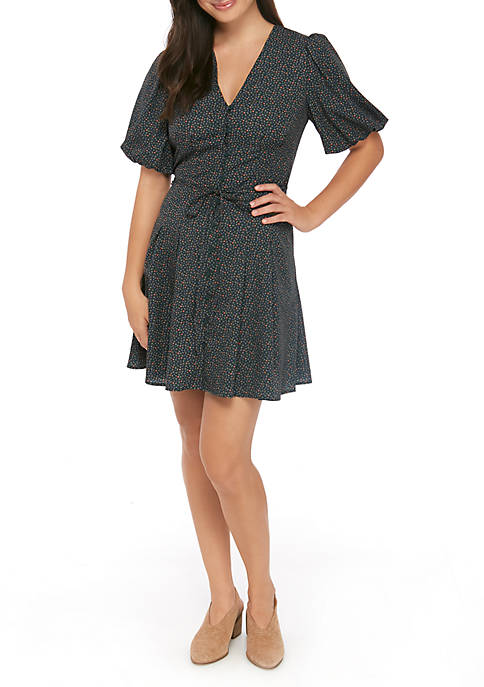 French Connection Short Sleeve Printed Graziana Dress