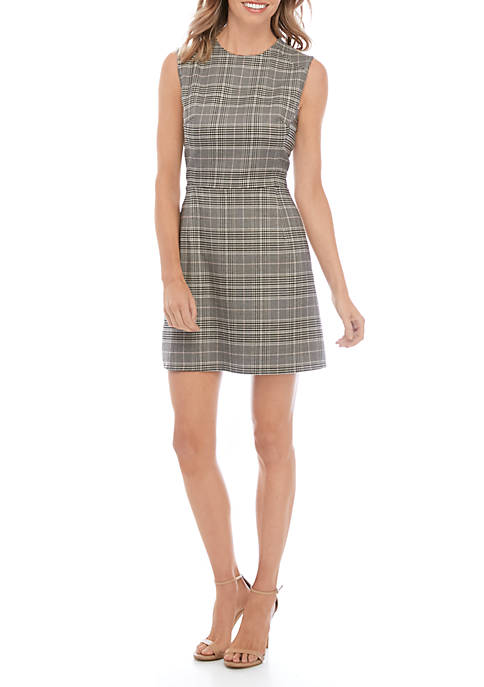 Amiti Check Sundae Dress