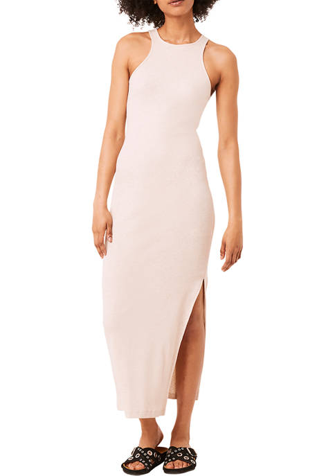 French Connection Rasha Ribbed Jersey Dress
