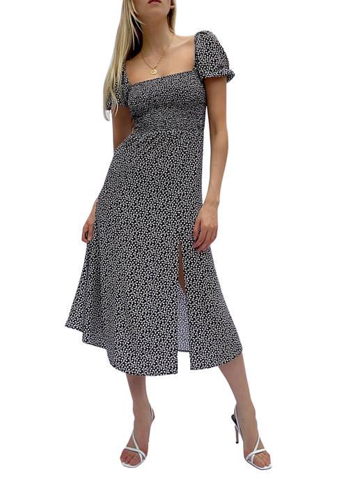French Connection Elao Crepe Midi Dress