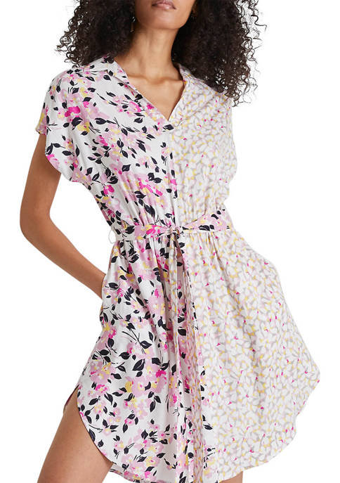 French Connection Yulia Printed Shirtdress