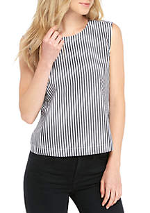 Sardinia Striped Sleeveless Shirt
