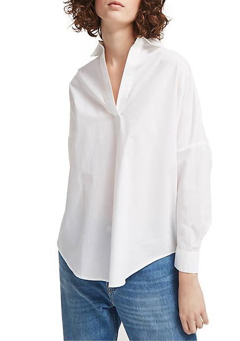 Rhodes Poplin Popover Shirt