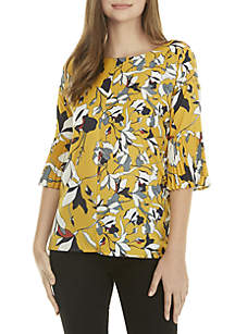 Aventine Printed Blouse
