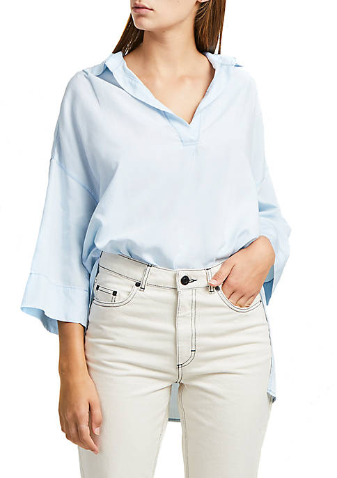 French Connection Julienne Lyocell® Popover Top