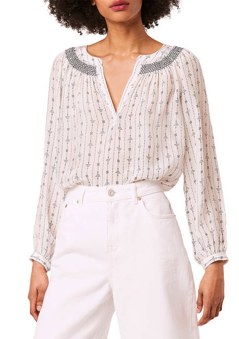 French Connection Almedi Printed Top