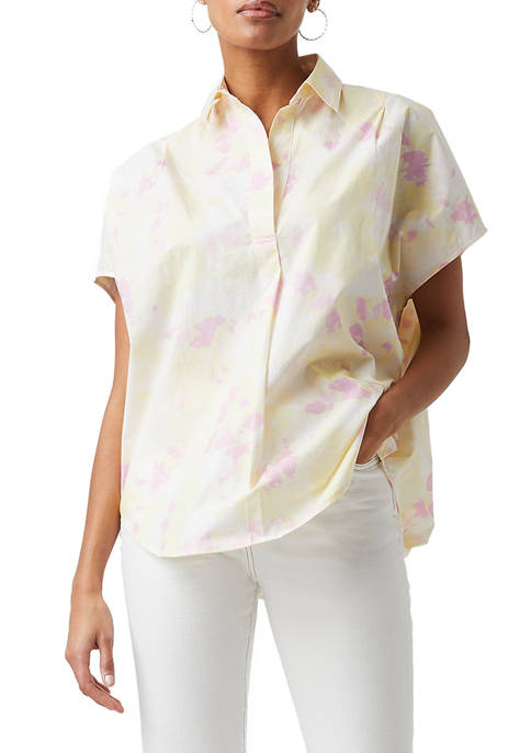 French Connection Duna Rhodes Poplin Top