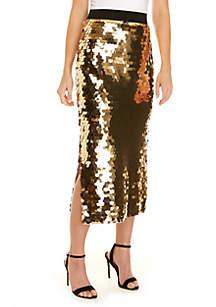 Emilia Sequin Skirt
