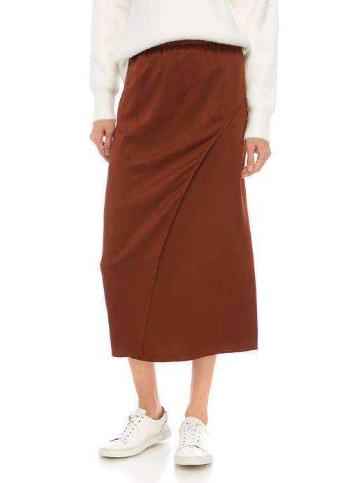 French Connection Alessia Drape Midi Skirt