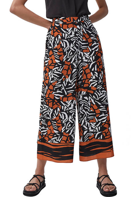 French Connection Afra Drape Culotte Pants
