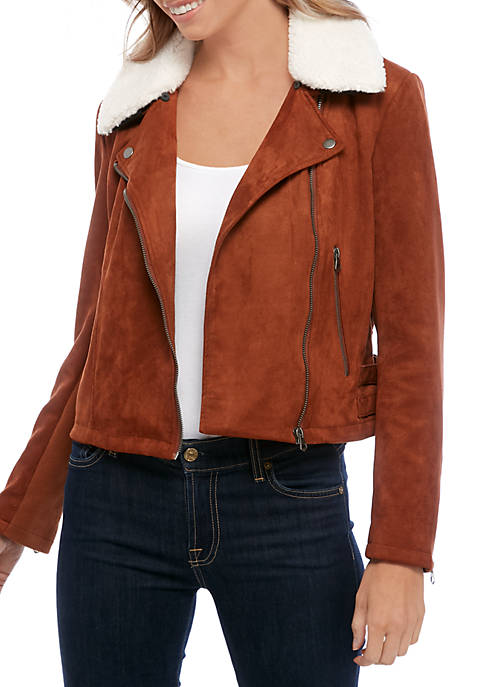 French Connection Faux Shearling Jacket