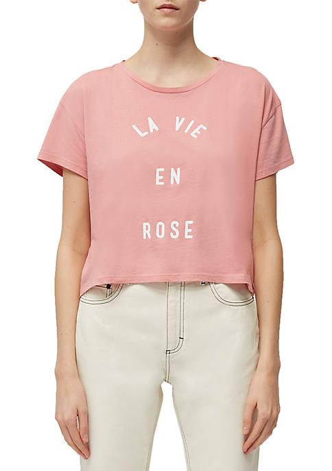 La Vie en Rose T Shirt
