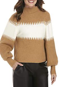 Sofia Chest Stripe Sweater