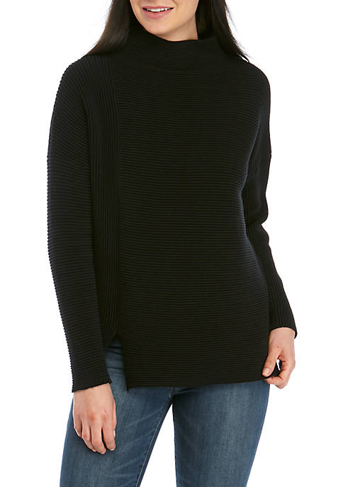 French Connection Sunday Mozart Rib Sweater