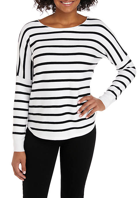 Soft Stripe Sweater