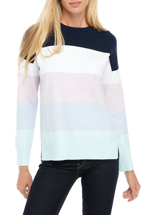 French Connection Baby Soft Multi Stripe Sweater
