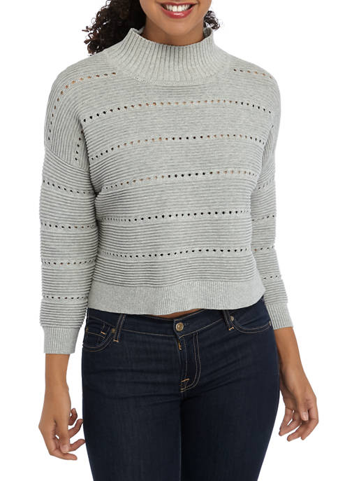 French Connection Liliya Open Knit Sweater