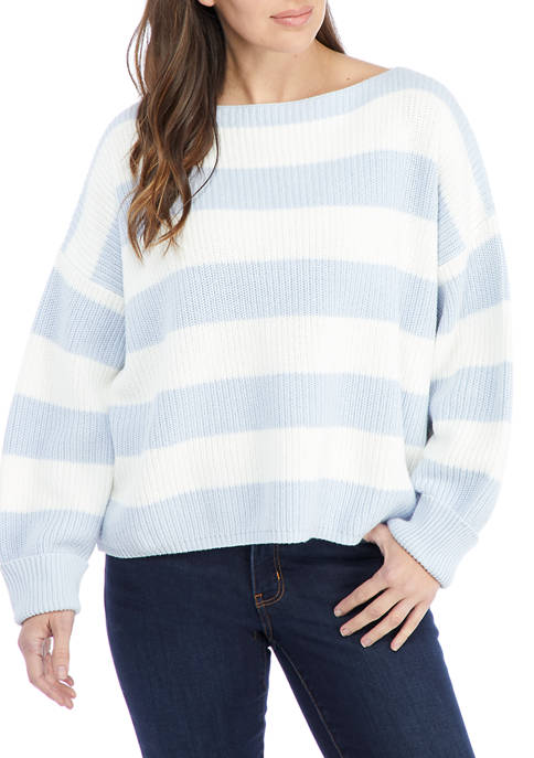 French Connection Mozart Stripe Sweater