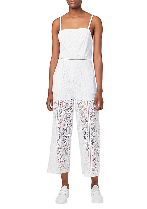 French Connection Helenie Lace Jumpsuit