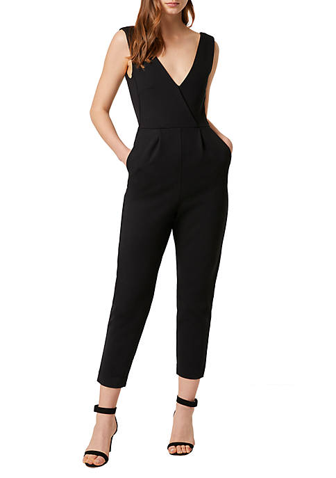 French Connection Marie Ponte Jumpsuit