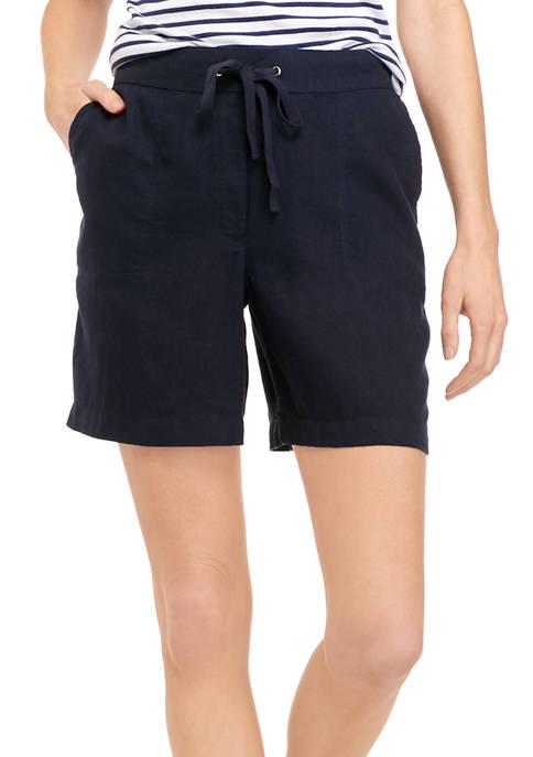 Kim Rogers® Petite Linen Shorts