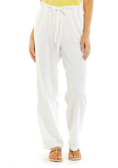 Kim Rogers® Petite Linen Pants