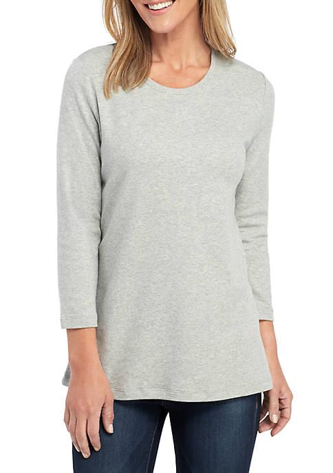 Petite 3/4 Sleeve T Shirt