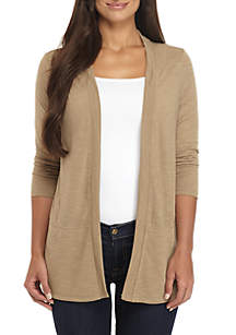 Petite Cardigan With Pockets
