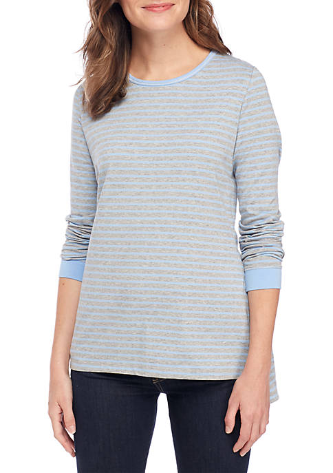 Kim Rogers® Petite Long Sleeve Top