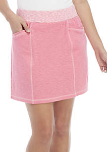 Kim Rogers® Petite Double Knit Skort