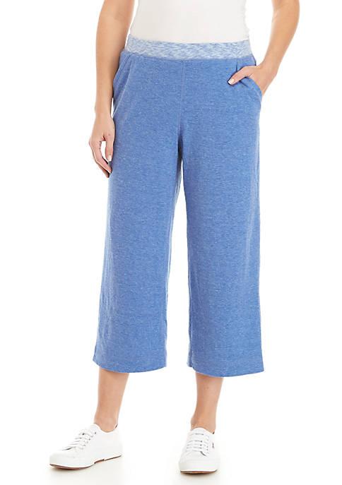 Kim Rogers® Petite Double Knit Capri Pants