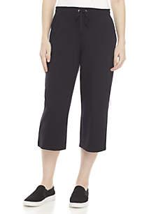 Kim Rogers® Petite Solid Capri Pants