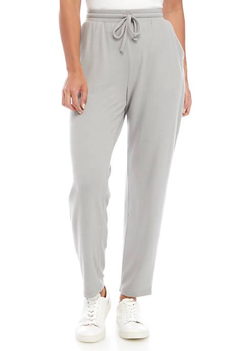 Kim Rogers® Petite Hacci Knit Wide Leg Pants