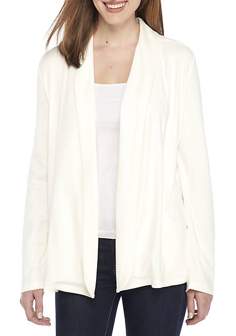 Kim Rogers® Petite Long Sleeve Cardigan